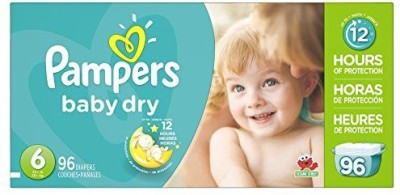 Pampers Baby Dry Diapers - Medium