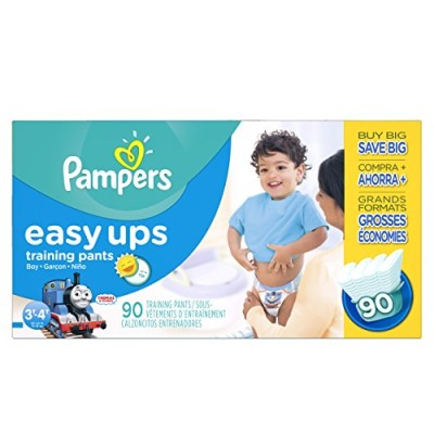 Pampers Easy Ups Training Pants Boys Diapers - Small