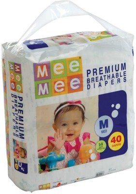 Mee Mee Premium Breathable Diapers - Medium