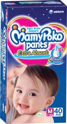 Mamy Poko Pants - M(40 Pieces)