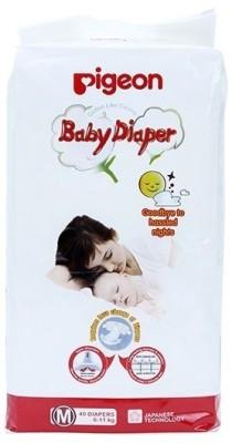 Pigeon Baby Diapers (Medium) 40 pieces (09182) - Medium
