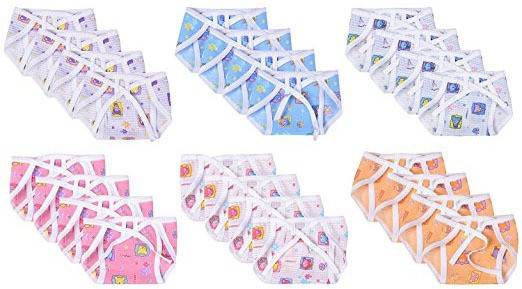 Firststep Cloth Daiper - Small(24 Pieces)