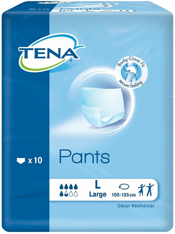 Tena adult diaper large size 10 pices - L(1 Pieces)