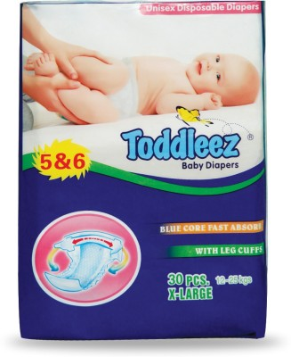 Toddleez Baby Diaper - X-Large