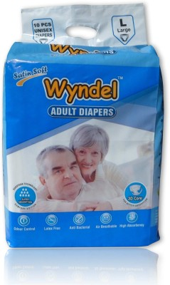 Wyndel Adult Diapers - L(10 Pieces)