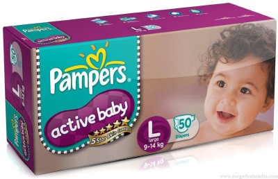 Baby Bucket Pampers Active Baby - Large