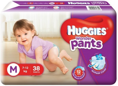 HUGGIES WONDER PANTS - MEDIUM(38 Pieces)