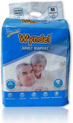 Wyndel ADULT DIAPERS COMBO OF 4 PACKETS - M(40 Pieces)
