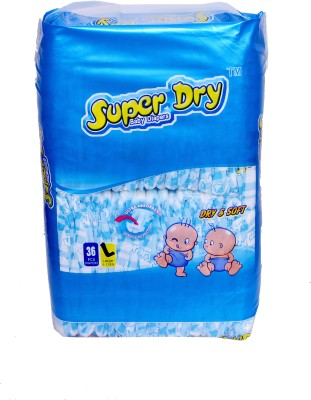 Super Dry Baby Diapers L - Large