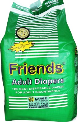 Friends Adult Diapers - Large