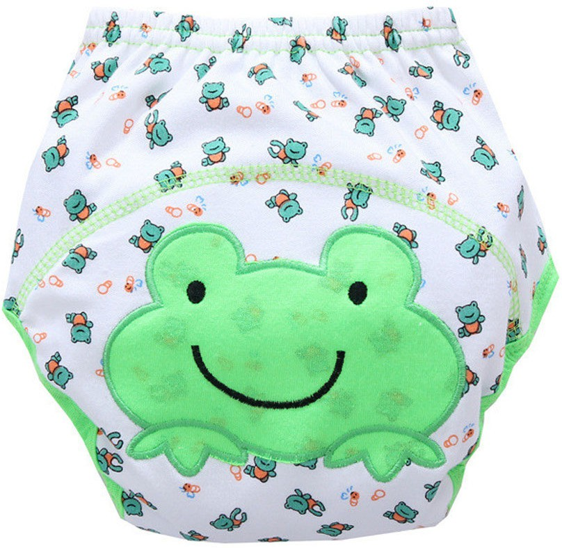 Ole Baby Soft Comfortable Reusable Cotton Pull on Style Pants (Age:2-3 Years) - L(1 Pieces)