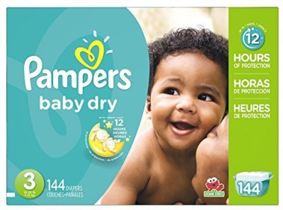 Pampers Baby Dry Diapers Giant Pack - Small