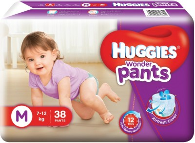 Huggies Wonder Pants - M(38 Pieces)