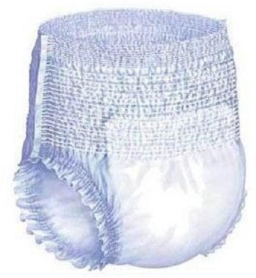 Wisher Brand Adult Pull Up Diapers Easy Pant Style - Large