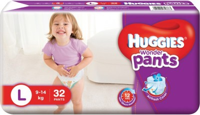 Huggies Wonder Pants - L(32 Pieces)