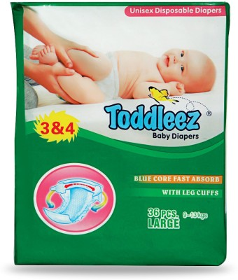 Toddleez Baby Diaper - Large