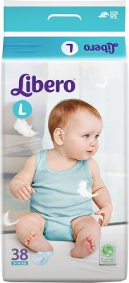 Khareedi Libro Open Diapers Large Size for 9-14 Kg babies - Large