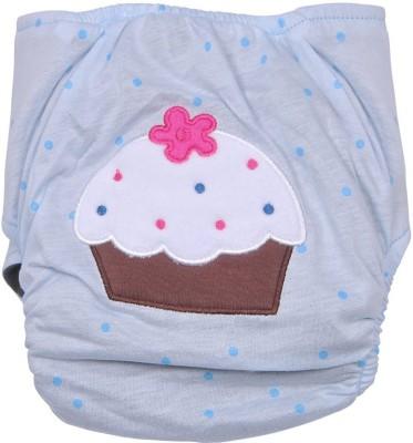 Cosy Cloth Diaper Cover + One Natural Cotton Insert - Medium