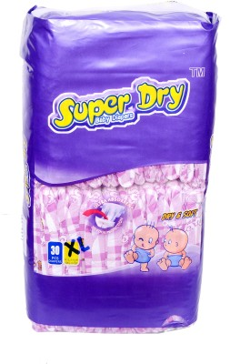 Super Dry Baby Diapers XL - Extra Large