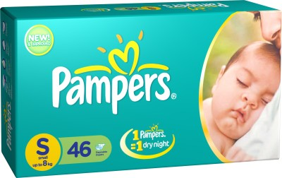 Pampers Diaper Taped New Born Small Size