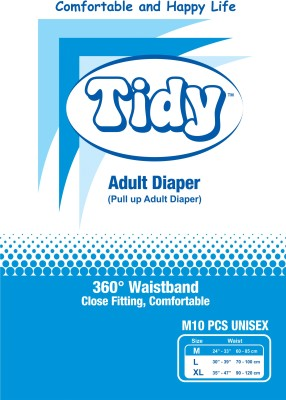 Tidy Pull Up Adult Diaper - Medium