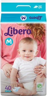 Libero Open Diapers - Medium