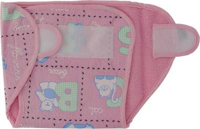 Love Baby Dry Quick Cloth with Plastic Diaper Pink - Medium