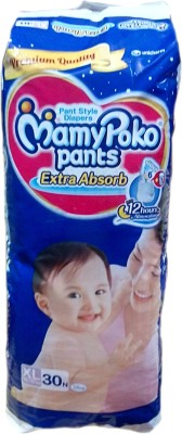 MAMY POKO ABSORB PANT STYLE DIAPERS - EXTRA LARGE