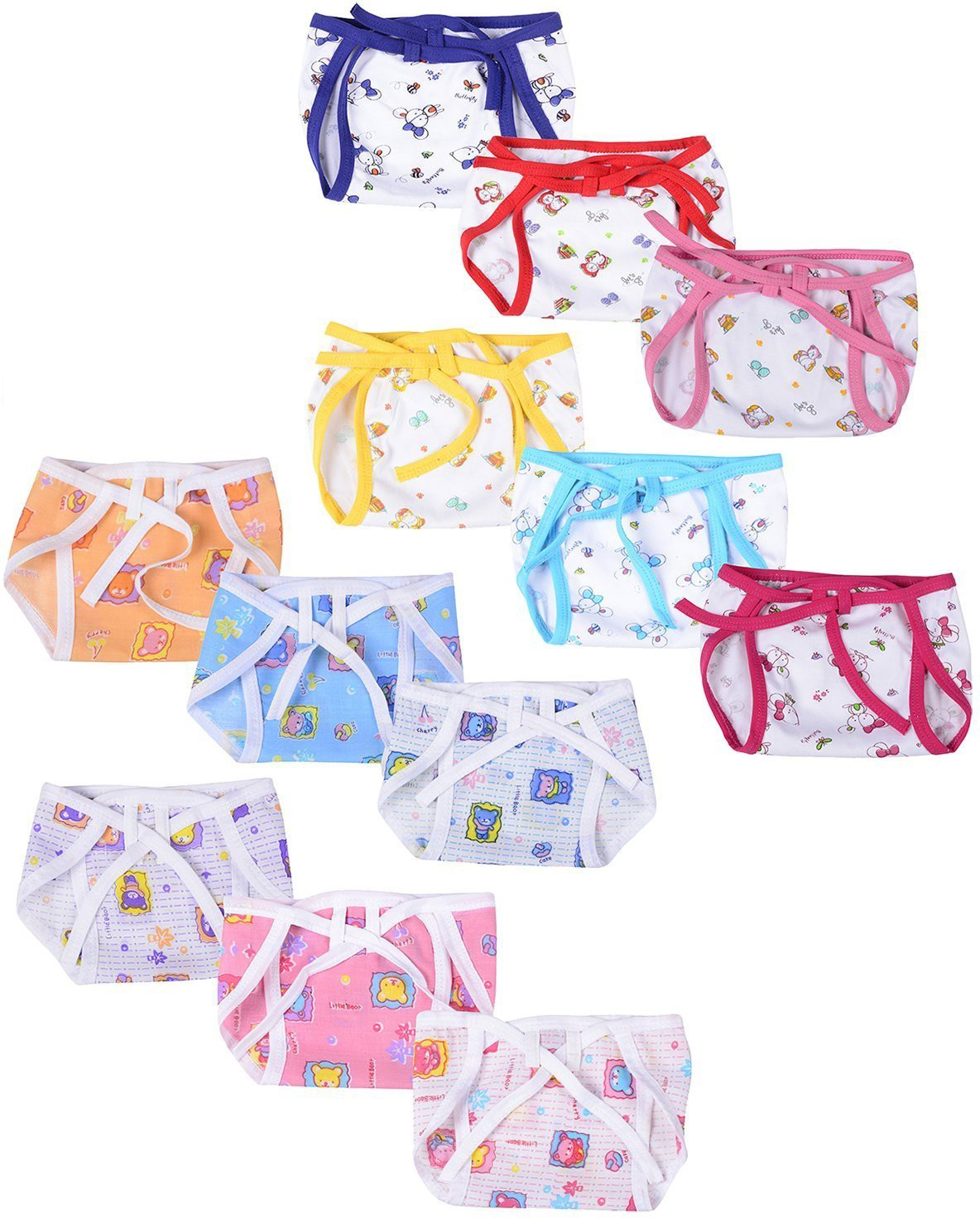 90388772f62 Firststep Firststep new born baby cute print cloth nappies for your little  one s(0-