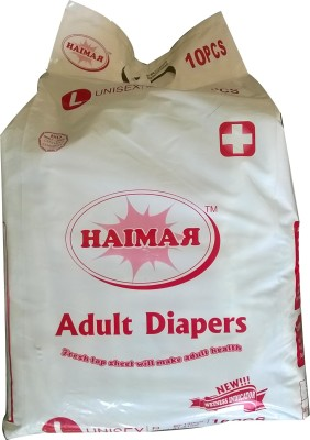 Haimar Adult Diaper - L(10 Pieces)