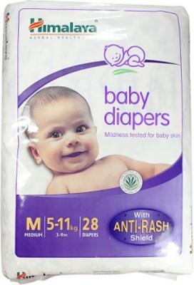 Himalaya Baby Diapers Medium 28 pieces Pack of 2 - Medium