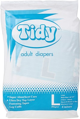 Tidy Adult Diaper - L