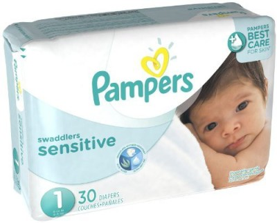 Pampers Swaddlers Sensitive Diapers - Size-1
