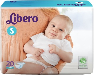 Libero Disposable Baby Diapers - Small