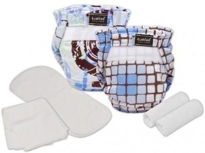 Kushies Ultra-Lite Infant Diaper Trial Pack - Boys - Infant