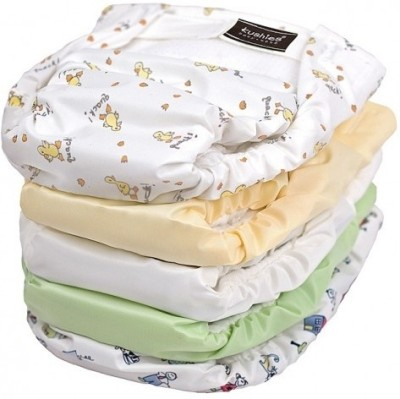 Kushies Ultra All-in-One Diaper 5 Pack Neutral - Infant