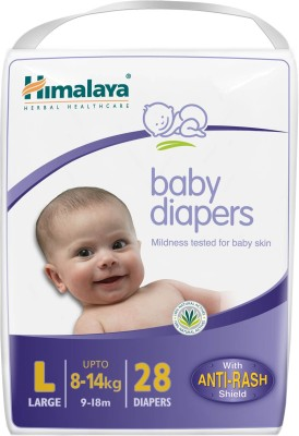 Himalaya Baby Diapers Large - Large(28 Pieces)
