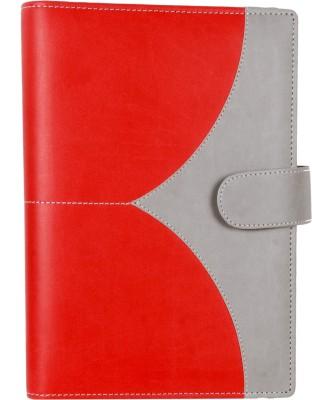 Sukeshcraft B7 Organizer(Sariasmita D04 Diary COMBINATION Red & grey, Red Grey)