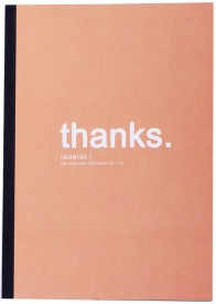 Enwraps Thanks Regular Notebook Soft Bound
