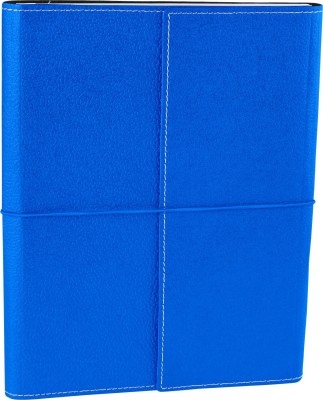 Ecoleatherette B5 Journal(Handcrafted, Denim Blue)