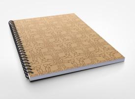 PrintKloud Wiro Plain A5 A5 Notebook Spiral Bound