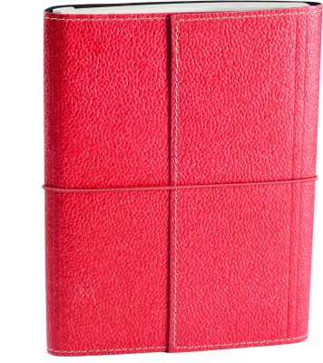 Ecoleatherette A5 Journal(Handcrafted, Dark Pink)