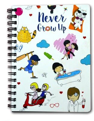 Never Grow Up A5 Diary