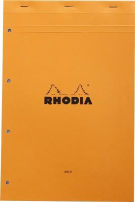Rhodia A4 Note Pad(Basics Orange - A4+ - 318 mm x 210 mm, Orange)