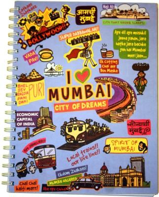 Eco Corner Mumbai Ruled Exercise A4 Notebook Spiral Bound