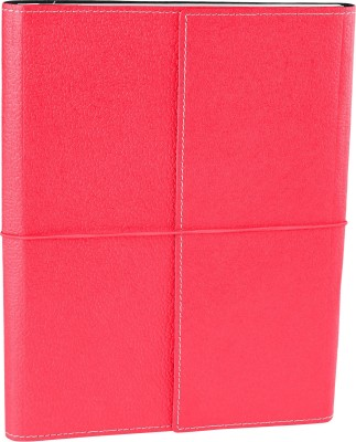 Ecoleatherette B5 Journal(Handcrafted, Dark Pink)