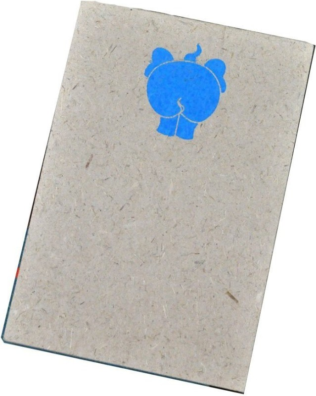 Haathi Chaap Regular Note Pad(Recycled Handmade, Blue)