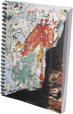 Indian Colours Art Photo A5 Notebook Spiral Bound