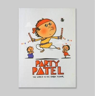 Chimp Party Patel A6 Notebook Hard Bound