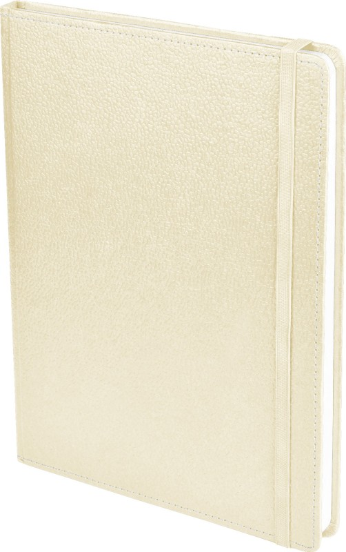 Ecoleatherette B5 Diary(Handcrafted, Pearl)